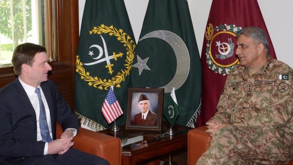Pakistan-US relations,Pakistan Army chief Gen Qamar Bajwa,US ambassador David Hale
