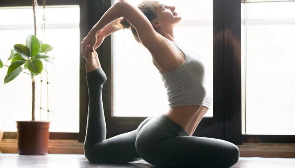 Yoga can boost flexibility as well as heart health.