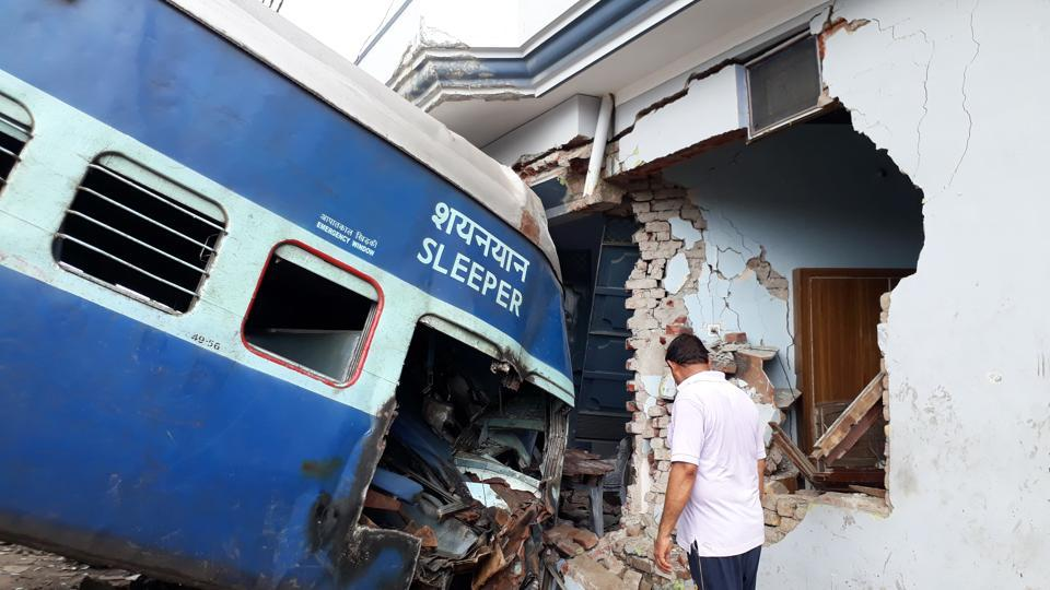Kaifiyat Express,Train accidents,Train derailment. Indian railways