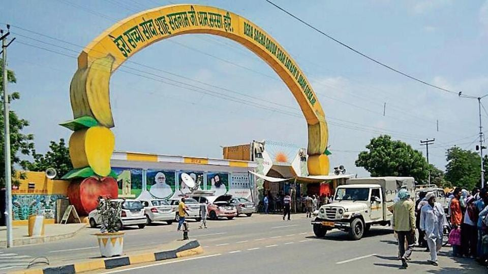The Dera Sacha Sauda headquarters in Sirsa. The Haryana government has already clamped prohibitory orders in all its districts as a precautionary measure.