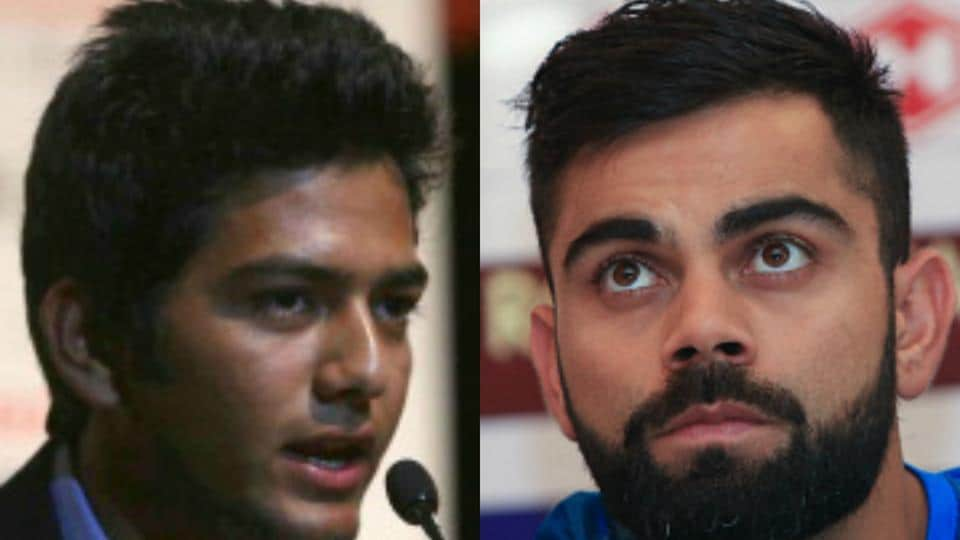 Unmukt Chand,Virat Kohli,Indian cricket team