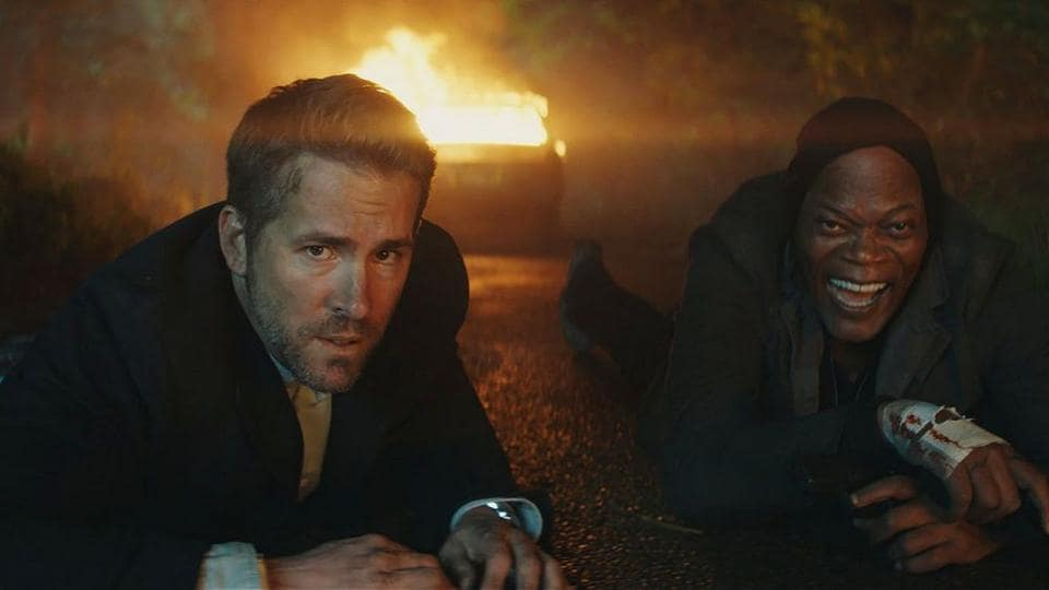 If it feels like deja vu, you've got the right idea. The Hitman's Bodyguard uses a template that died two decades ago, and only the star cast of Samuel L Jackson, Ryan Reynolds and Salma Hayek renders it bearable.