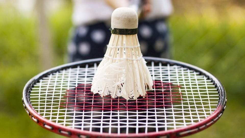 A badminton match with friends is a great way to socialise, which has health benefits of its own besides being fun.