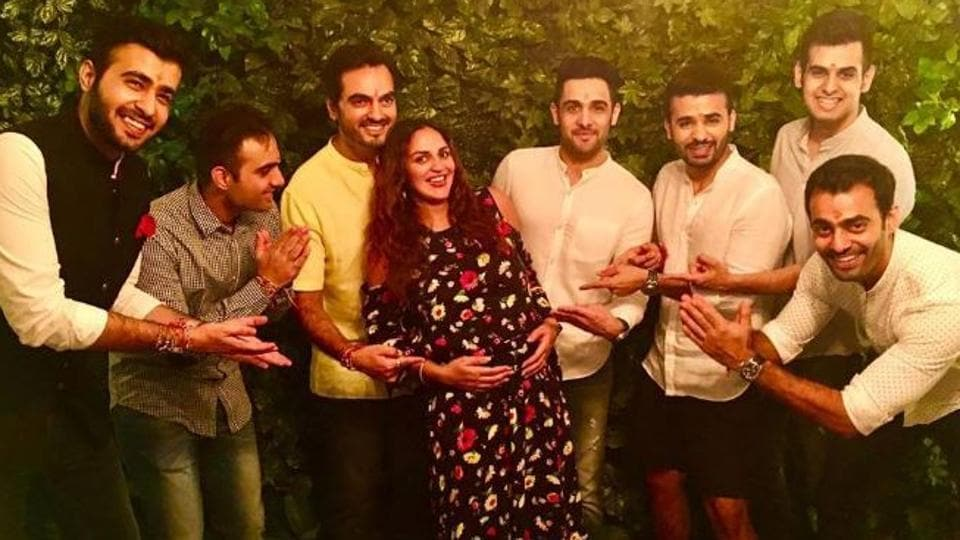 Esha Deol has documented her pregnancy journey with cute Instagram posts.