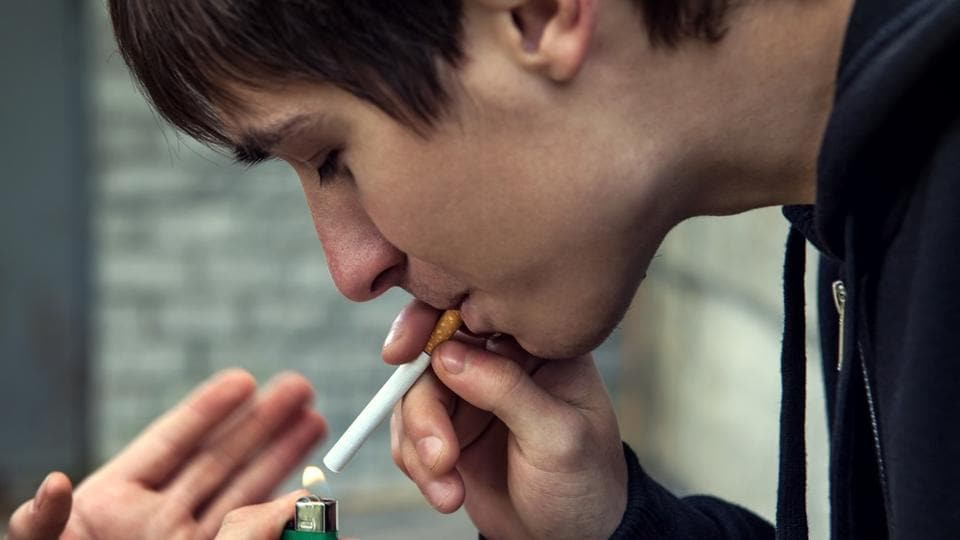 The research focused on the relationship between behaviour and health in vulnerable smokers.