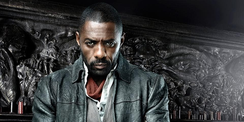 Idris Elba, as the jaded gunslinger, is forced to mouth lines such as, 'I do not kill with my gun, I kill with my heart'. Painful to watch.