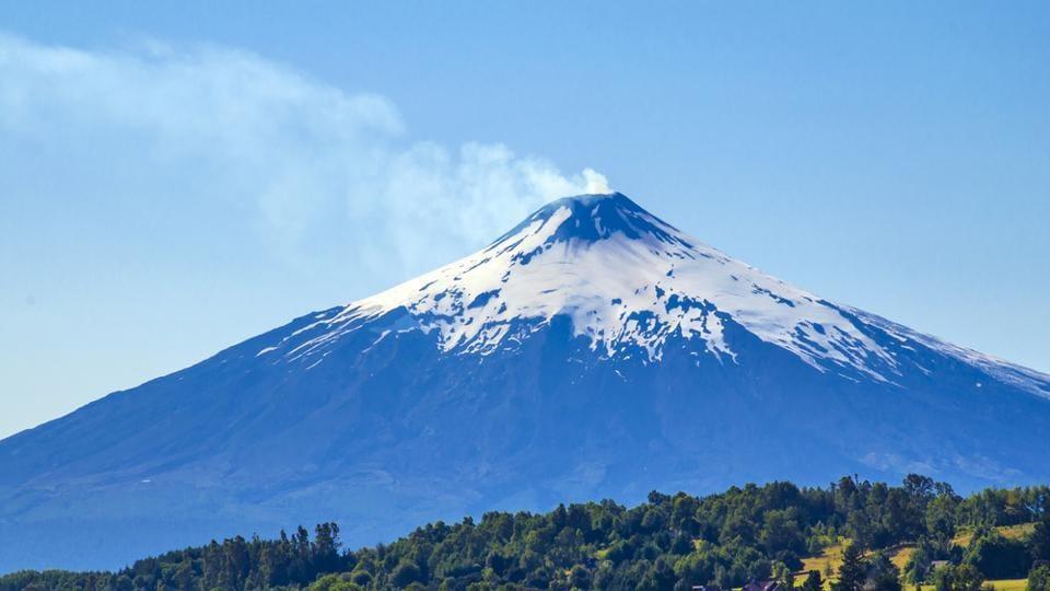 Volcano,Chile,Villarrica