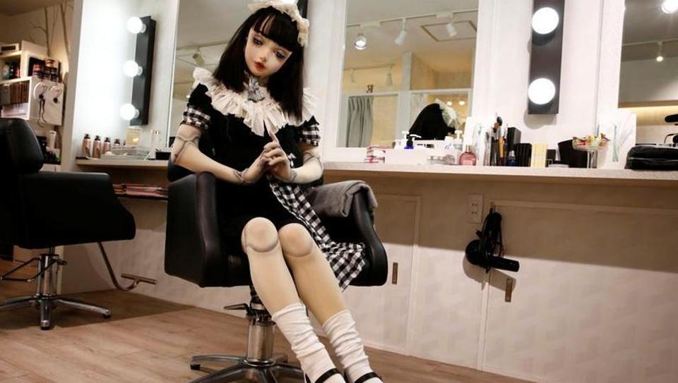 Lulu Hashimoto,Living doll,Fashion model