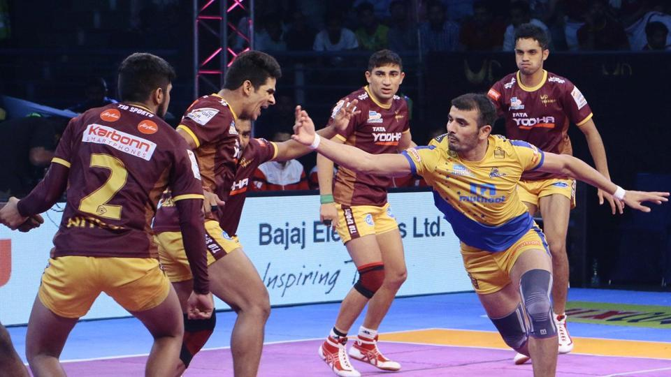 UP Yoddhas and Tamil Thalaivas engage in a nail-biting draw