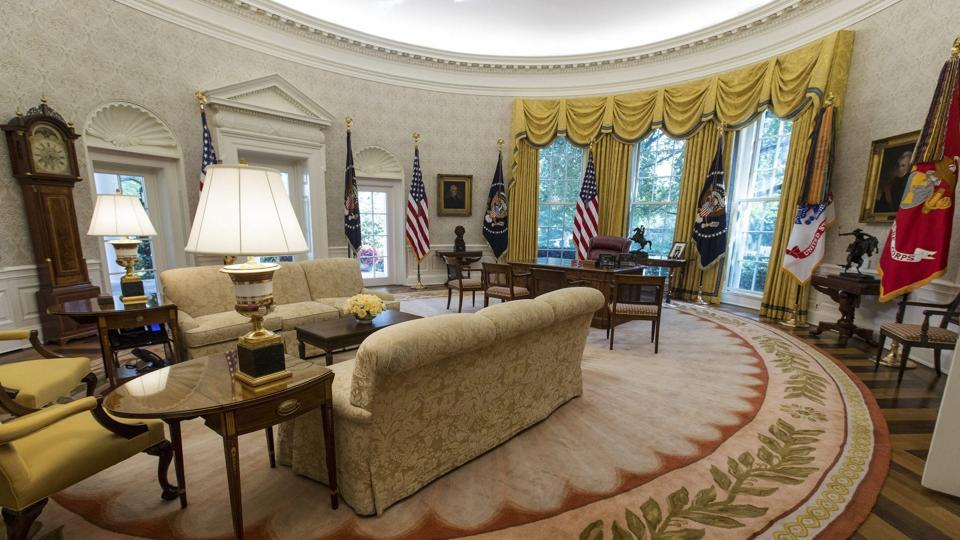 Here S How The Renovated White House Looks Ps Donald