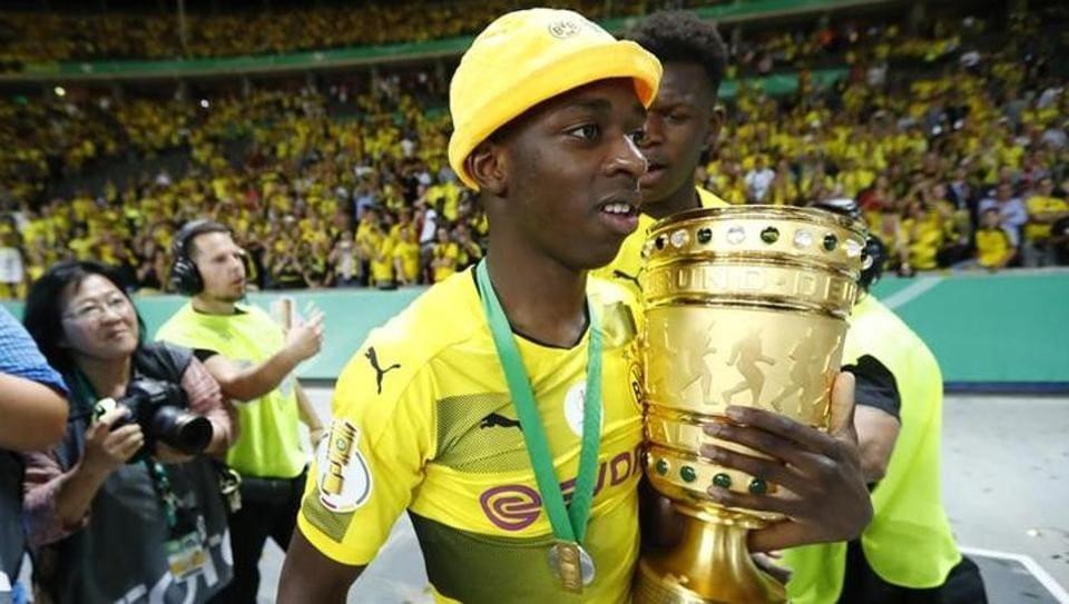 FCBarcelona,Ousmane Dembele,Borussia Dortmund