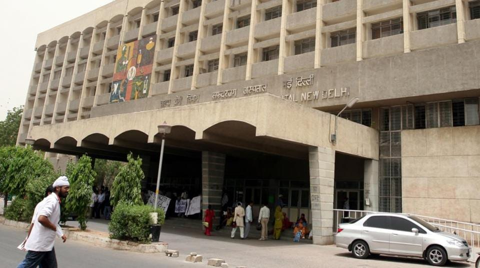 Safdarjung Hospital,New Delhi,Strike
