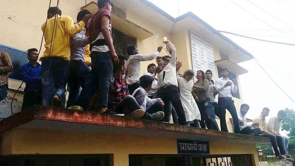 Uttarakhand,MB College,NSUI
