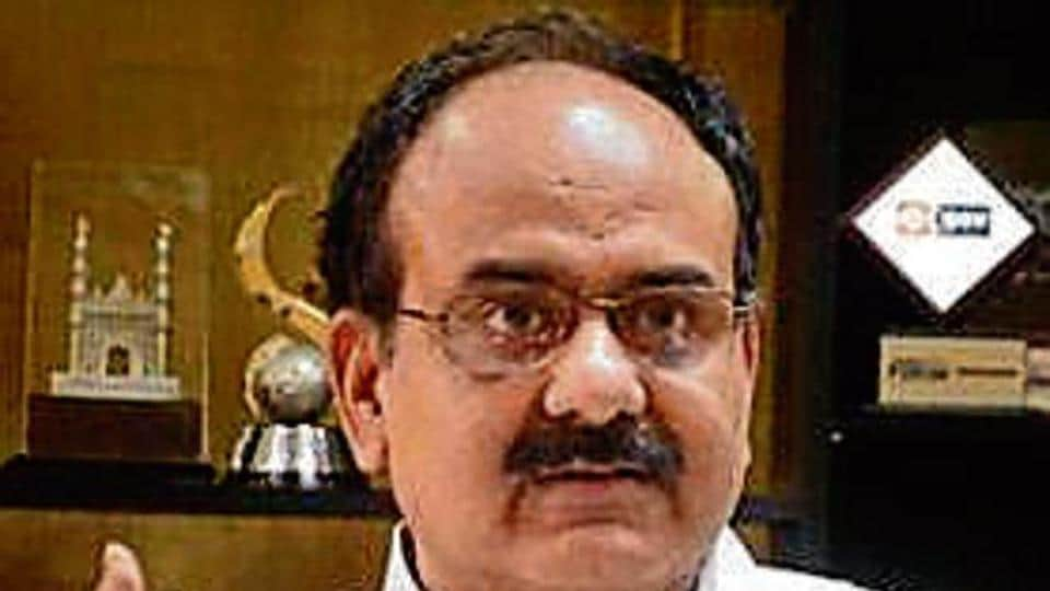 ABP Pandey, CEO, Unique Identification Authority of India.