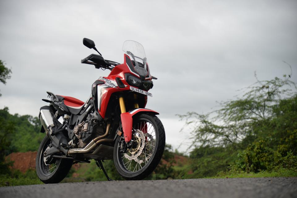 Honda Africa Twin DCT is here.