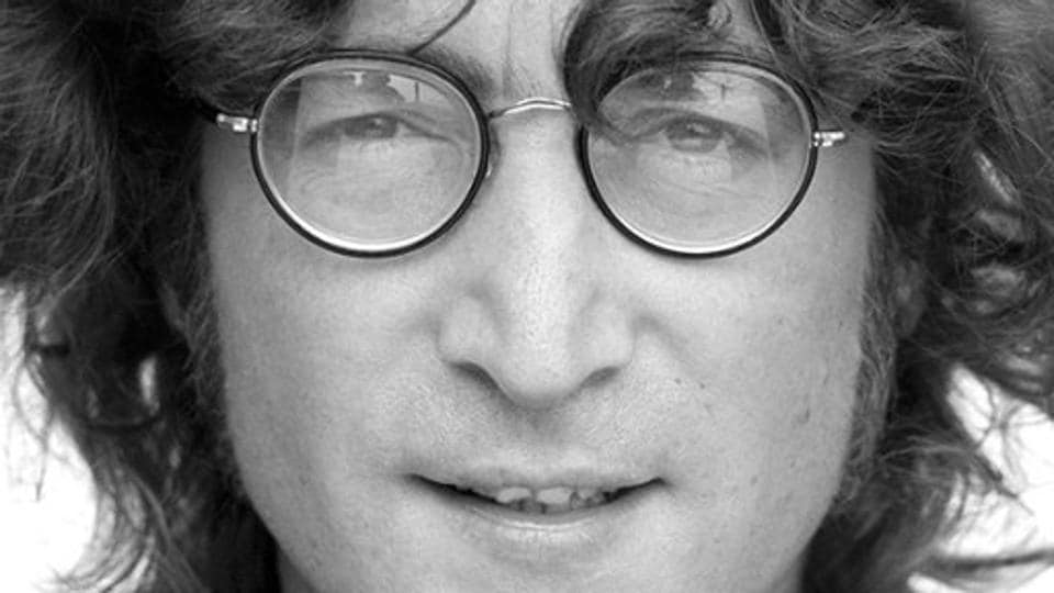 File photo of late musician John Lennon, a member of The Beatles. A Pakistani school has dropped plans to feature Lennon's classic song Imagine at a concert by students after two columnists objected to its lyrics.