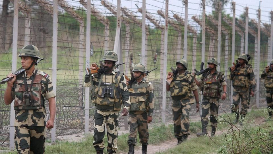 BSF,international border,Jammu