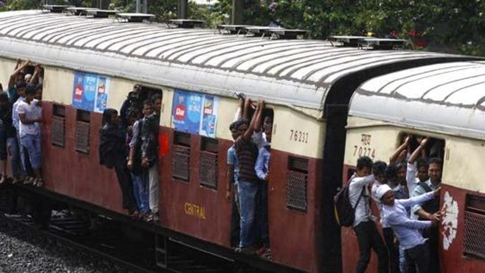 Mahim station,Harbour Line,Mumbai suburban train