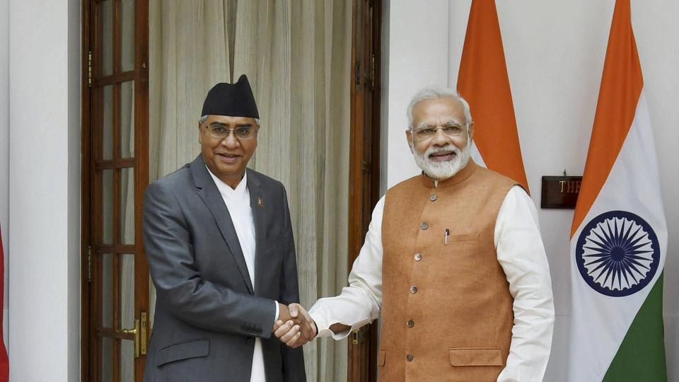 'Guard of Honour' to Prime Minister Deuba
