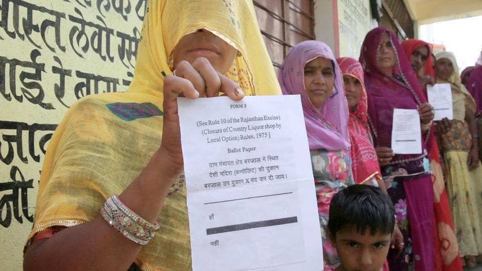 Liquor referendum,Alcohol,Kachhbali gram panchayat