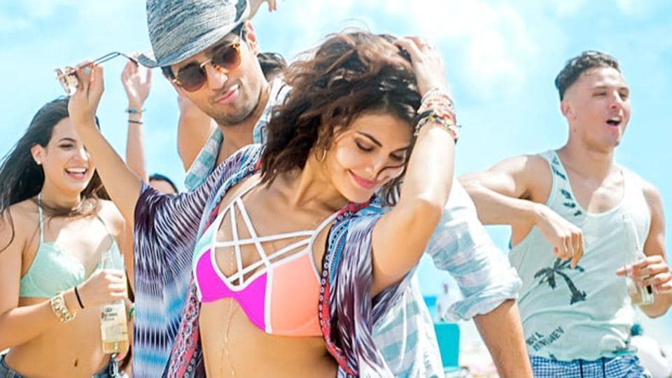 Sidharth Malhotra and Jacqueline Fernandez in a still from A Gentleman.