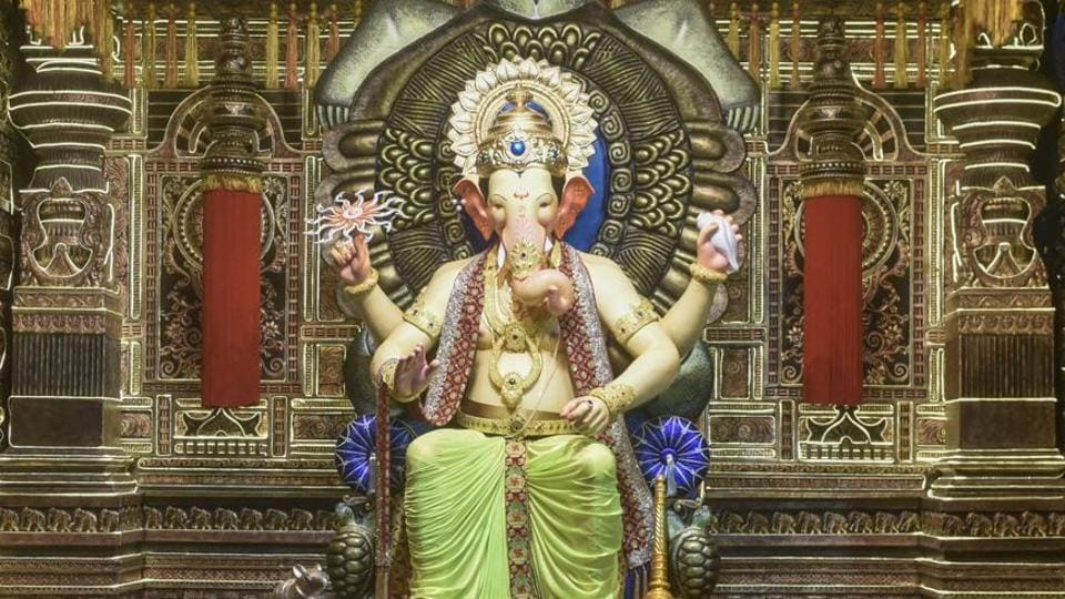 Lalbaugcha Raja is one of the most popular pandals in Mumbai.