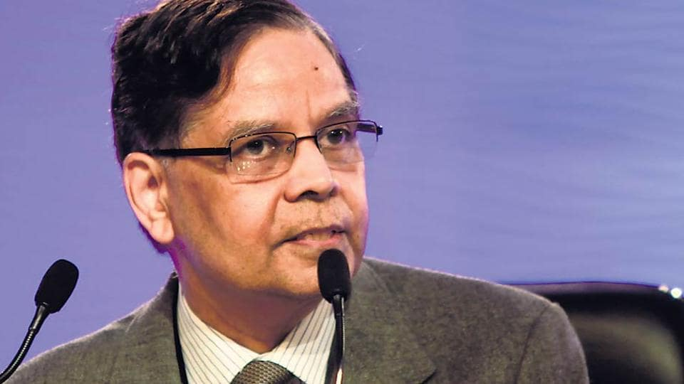 Niti Aayog's outgoing vice-chairman Arvind Panagariya.
