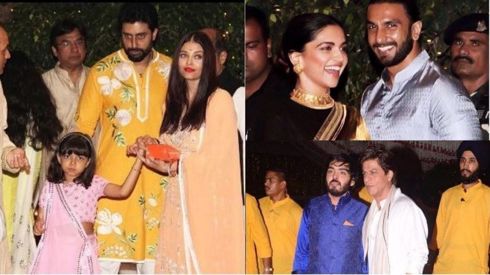Deepika Ranveer,Aishwarya Aaradhya,Shah Rukh Khan Priyanka