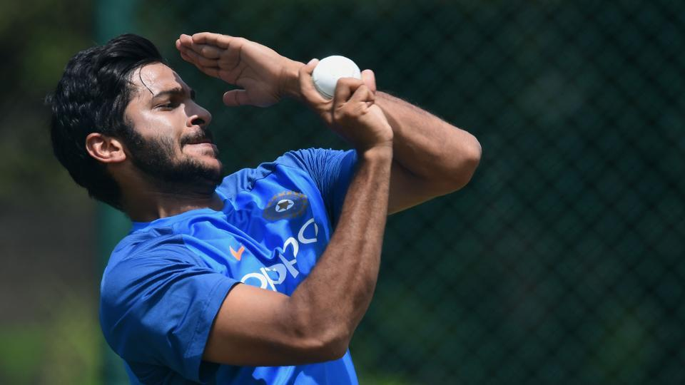 Shardul Thakur could make his international debut later in the series.  (AFP)