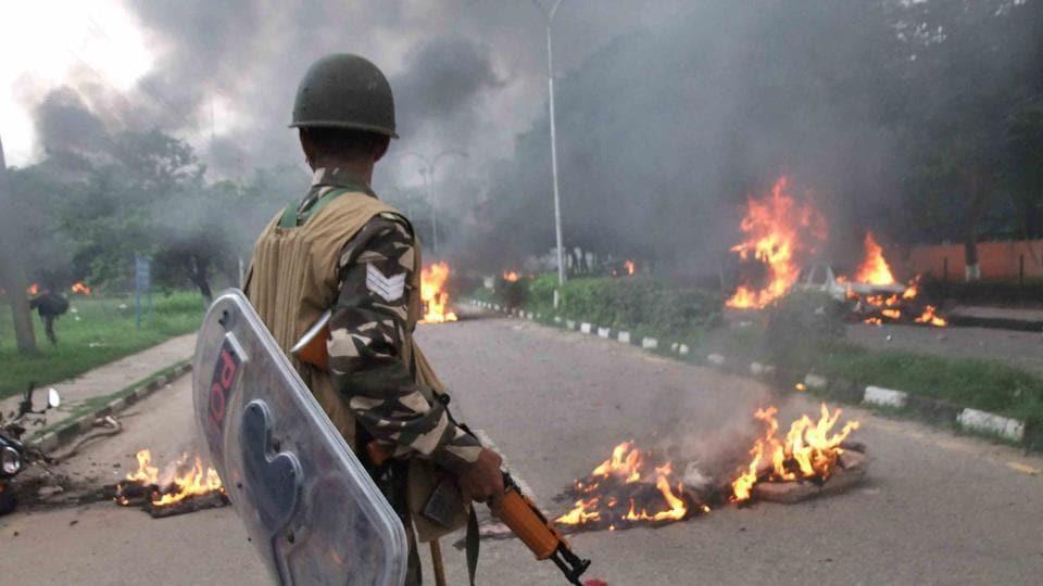 Ram Rahim,Ram Rahim rape verdict,Panchkula violence