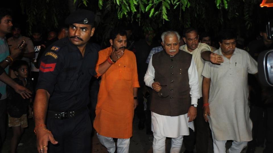 Haryana,ML Khattar,Haryana Chief Minister