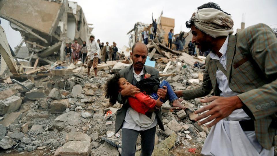 Saudi Arabia,Saudi led coalition,Air strike