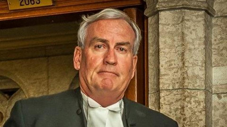 Kevin Vickers, Canadian envoy to Ireland, said in a Facebook post his house was haunted.