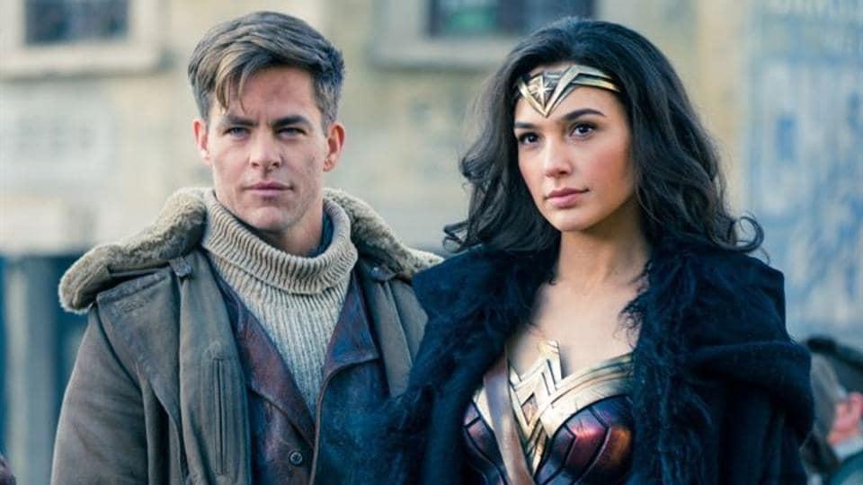 Gal Gadot,Chris Pine,Wonder Woman