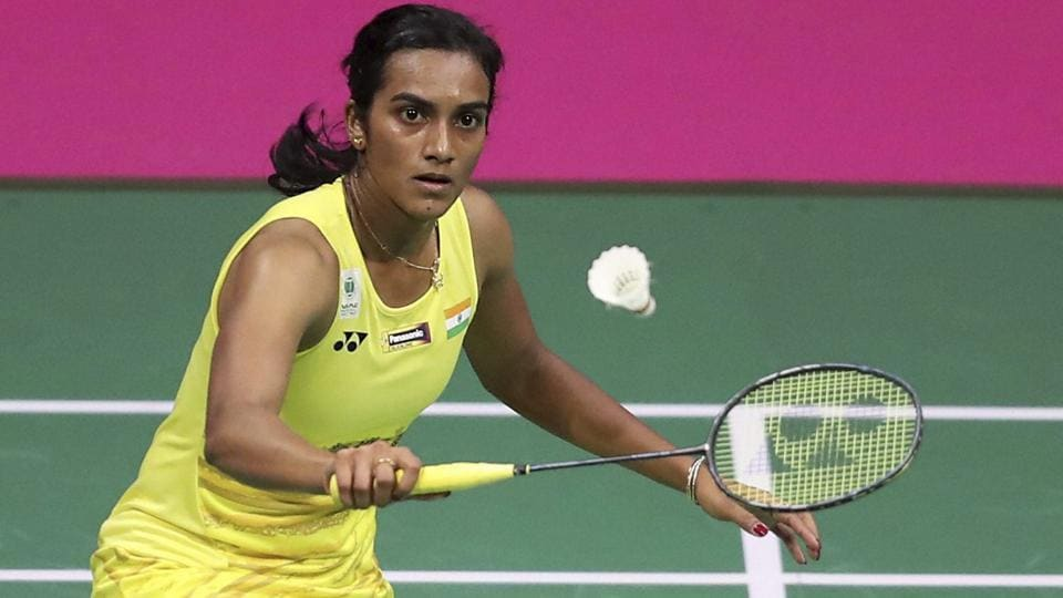 PV Sindhu lost 19-21, 22-20, 20-22 against Nozomi Okuhara in the World Badminton Championships final.  (AP)