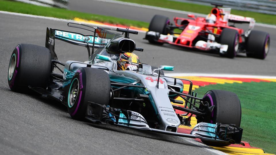Lewis Hamilton,Sebastian Vettel,Belgium Grand Prix