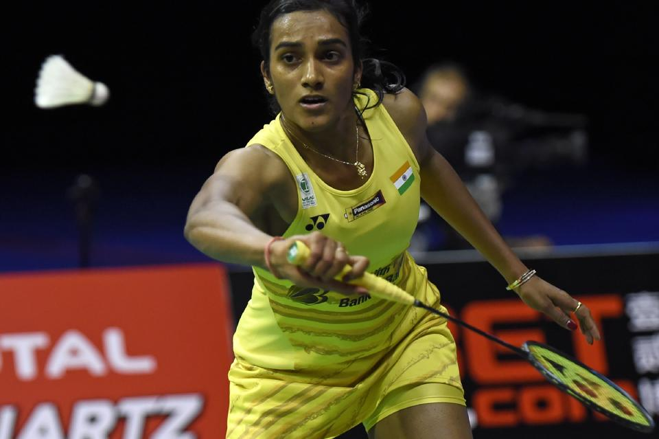 This was the first silver medal for PV Sindhu in World Badminton Championships. (AFP)