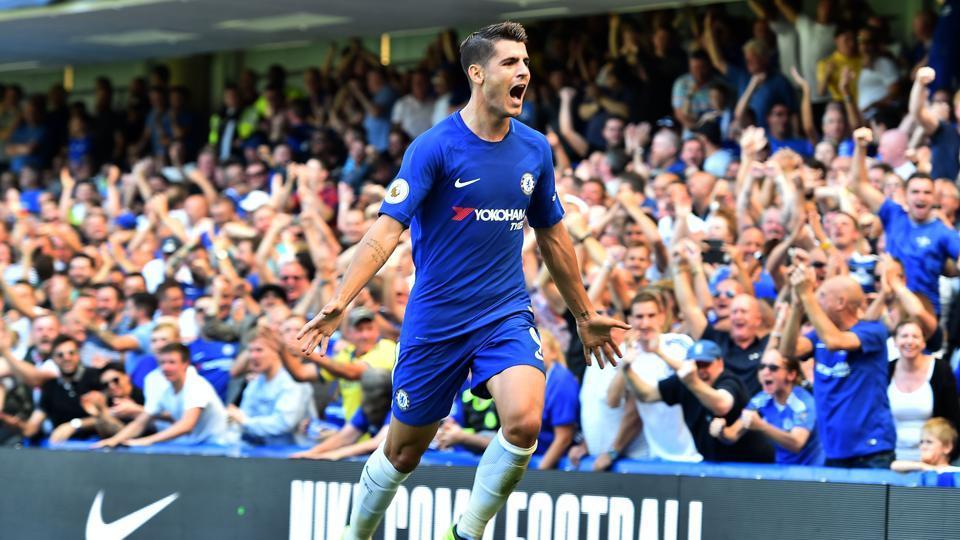 Chelsea Cruise Past Everton As Cesc Fabregas, Alvaro
