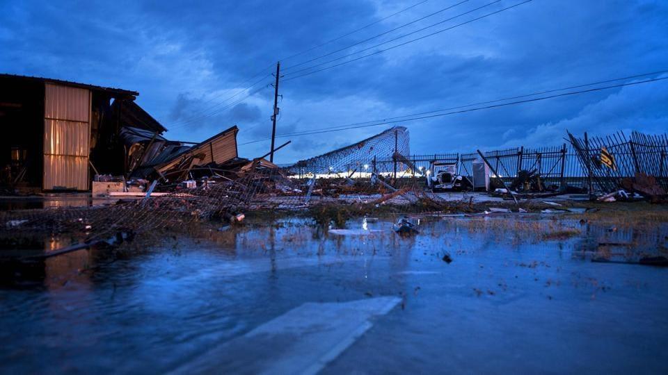 Texas,Hurricane Harvey,Landfall