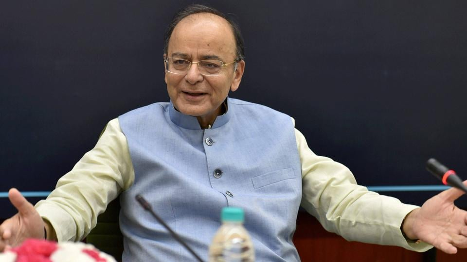 Finance minister Arun Jaitley says about 52.4 crore unique Aadhaar numbers are linked to 73.62 crore accounts in India.