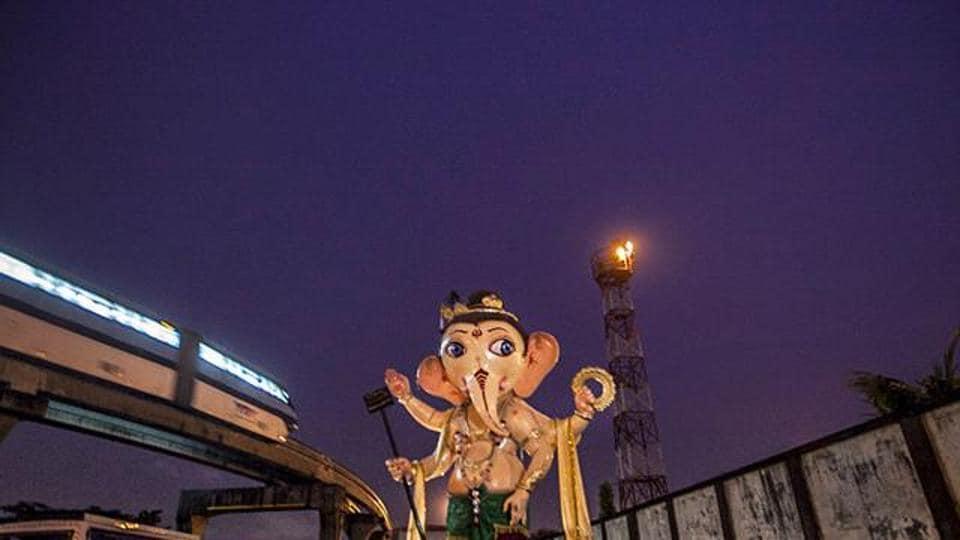 Ganesha,Immersion,Eden Gardens