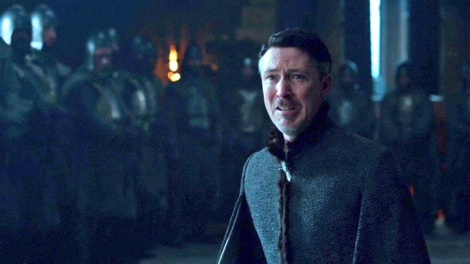 Game of Thrones season 7 finale episode: Look at Lord Baelish whine and wail for mercy.