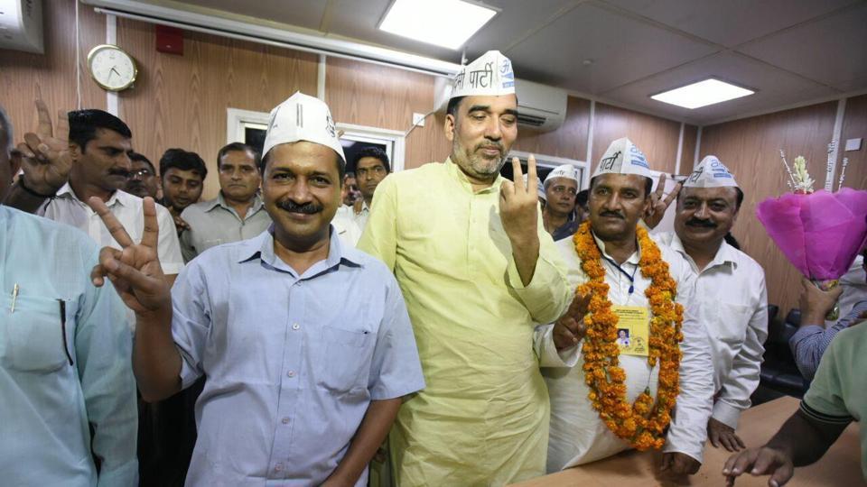 Bawana election result,Bawana byelection result 2017,Delhi news