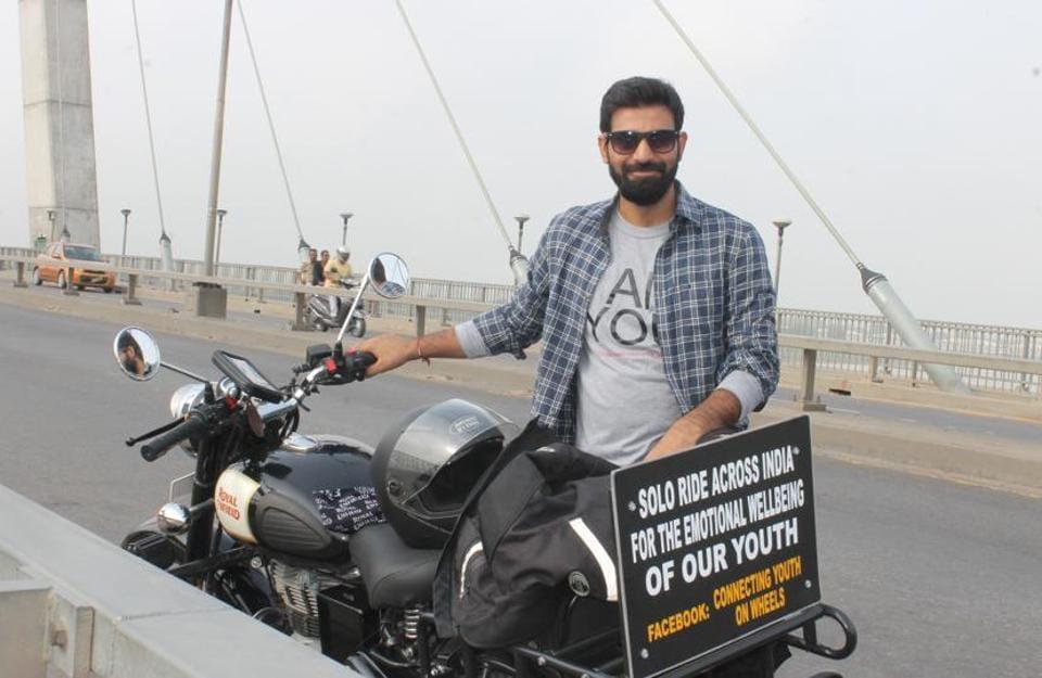 Motorcycle ride,Shrawan Kumar Yadav,Youths