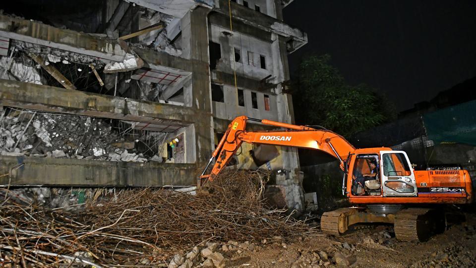 Mumbai building collapse,Brihanmumbai Municipal Corporation,Slum Rehabilitation Authority