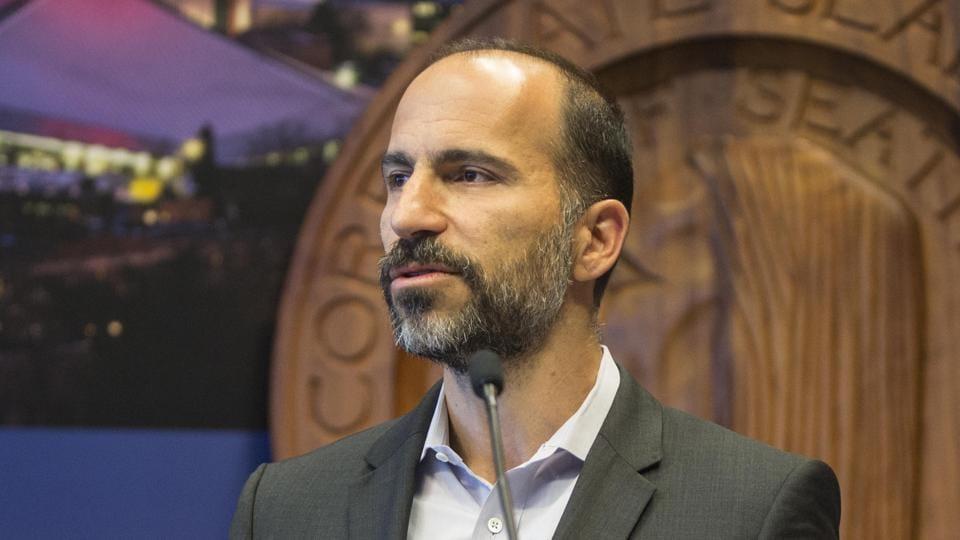 Uber,Uber CEO,Dara Khosrowshahi