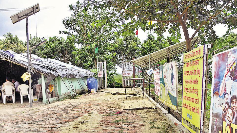 The ashram came up around two years ago on the banks of river Hindon. Ram Rahim had also held an event to promote his movie 'Messenger of God' at the Karhera ashram.