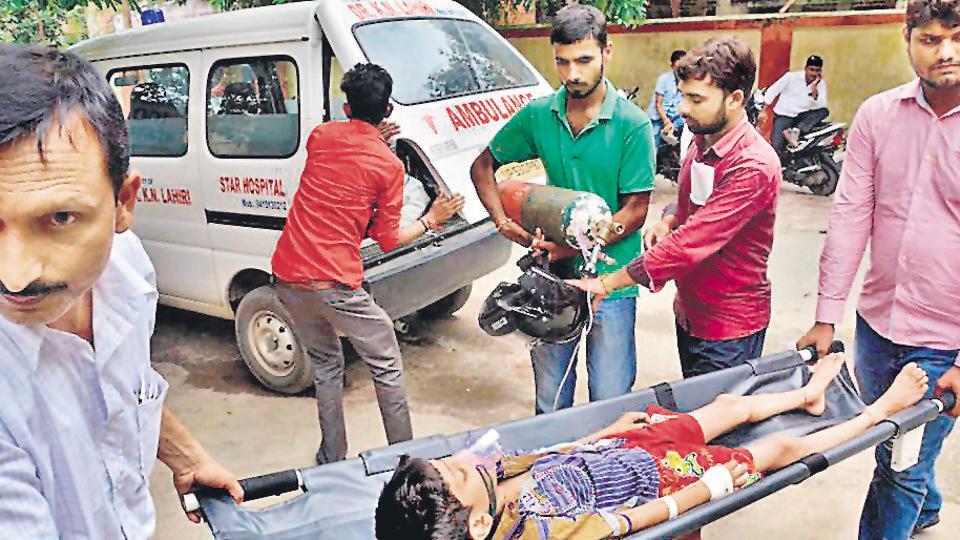 Gorakhpur,India's public health delivery system,Public health expenditure