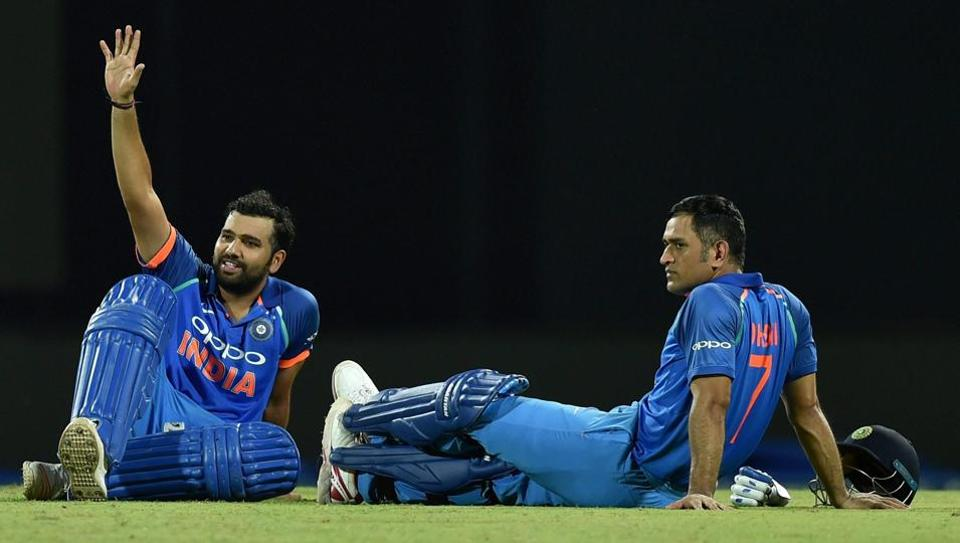 India vs Sri Lanka,Rohit Sharma,MS Dhoni