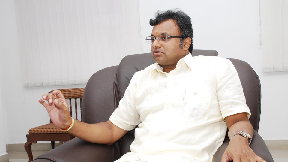 Karti Chidambaram,P Chidambaram,Central Bureau of Investigation